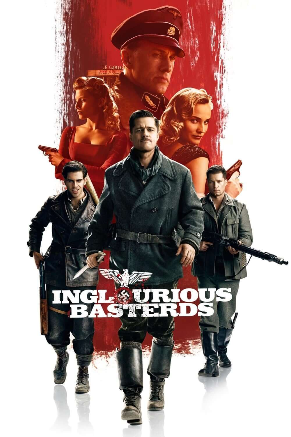 "Poster for the movie ""Inglourious Basterds"""