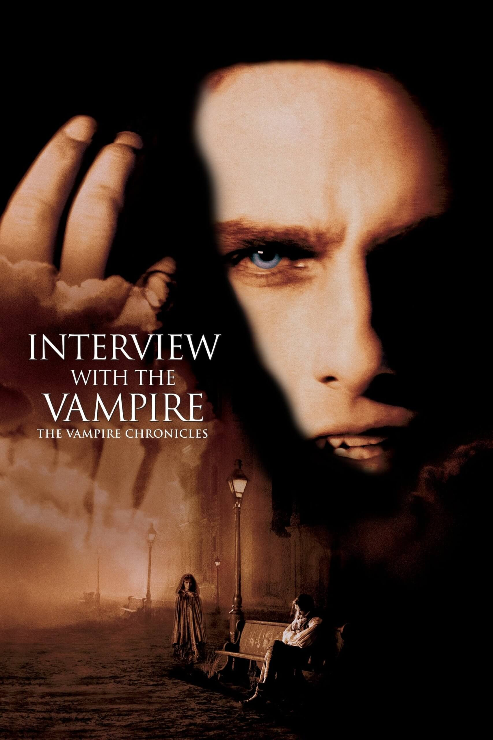 "Poster for the movie ""Interview with the Vampire"""